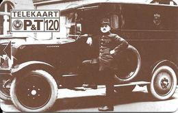 CARTE-SANS-PUCE-LUXEMBOURG-120U-TP01-09/92-POST 150 Ans-Le CAMION--TBE - Luxembourg