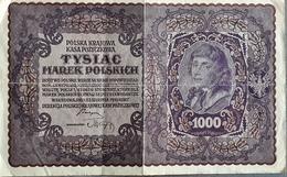POLAND  1000 Marek 1919 - Pologne