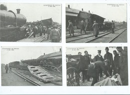 Kontich Catastrophe 1908 ( 6 Kaarten ) - Kontich