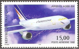 France - 1999 - Airbus A300-B4 - YT Poste Aérienne 63 Neuf Sans Charnière - MNH - Poste Aérienne