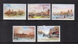 Malta - 2007 - Paesaggi - 5 Valori - Nuovi - Vedi Foto - (FDC15908) - Malta