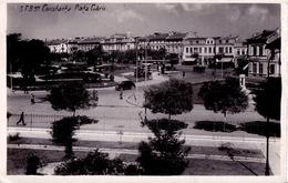 CONSTANTA : PIATA GARII / THE TRAIN STATION SQUARE - CARTE VRAIE PHOTO / REAL PHOTO POSTCARD ~ 1935 - RRR !!! (ac460) - Roumanie