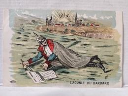 L'Agonie Du Barbare. 1914 - Oorlog 1914-18