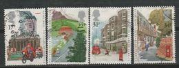GROSSBRITANNIEN GRANDE BRETAGNE GB 1985 P.O. Anniversaries Set Of 4 USED SG 1290-3 SC 1111-14 MI 1035-38 YT 1186-1189 - 1952-.... (Elisabeth II.)