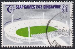 Singapore 1973 $1 SG210 - Used - Singapore (1959-...)
