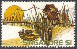 Singapore 1975 $1 SG248 - Used - Singapore (1959-...)