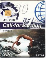 ARUBA(chip) - Awa, CN : 747, Chip SO3, No Date, Used - Aruba