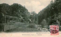 (110)  CPA  Schwarzwald Partie A D Hollental - Allemagne