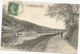 GUENROUET LE CANAL DE NANTES A BREST   VOIR PENICHE - Guenrouet
