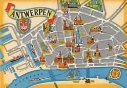 GROETEN UIT ANTWERPEN-NON VIAGGIATA -F.G - Antwerpen
