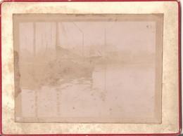 Kanaal Gent ? Canal Gand ? : Foto Op Hard Karton Photo Carton (9 X 12 Cm) - Gent