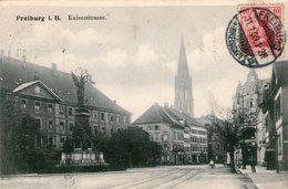 (110)  CPA  Freiburg I. Br.  Kaiserstrasse - Freiburg I. Br.