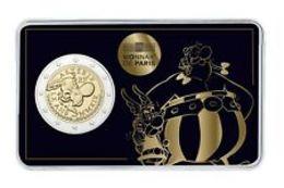 "Pièce Commémorative 2 Euro France 2019 Coincard "" 60 Ans D' Astérix : Thème Asterix & Obélix "" - France"