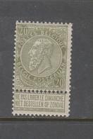 COB 59 ** Neuf Sans Charnière MNH Cote 65€ - 1893-1900 Barbas Cortas