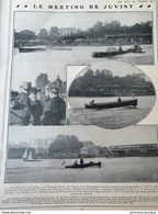 1906 LE MEETING DE JUVISY - HYDROPLANE LAMBERT - Journaux - Quotidiens