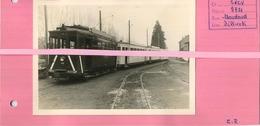 Dilbeek TRAM 9721   ( Foto 12.5 X 9 Cm  Geplakt Op Papier Met Uitleg )   See Scan - Trains
