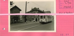Schepdaal TRAM S 9762  ( Foto 12.5 X 9 Cm  Geplakt Op Papier Met Uitleg )   See Scan ( Bieren Neval - Deneve ) - Treinen