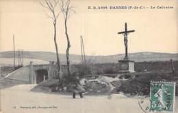 62 - DANNES : Le Calvaire - CPA Village (1.330 Habitants) - Pas De Calais - Autres Communes