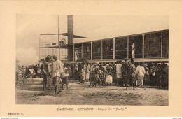 "DAHOMEY  COTONOU- Départ Du """" Faadji """"   ... - Dahomey"