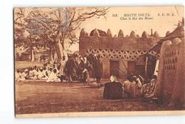 X039 HAUTE VOLTA CHEZ LE ROI DES MOSSI - Burkina Faso