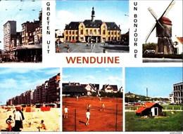 Groeten Uit WENDUINE - Multi-vues - Oblitération De 1983 - Wenduine
