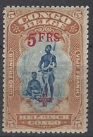 Congo Belga 79 * Charnela. 1918 - 1894-1923 Mols: Nuevos