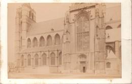 Mechelen Malines Eglise Notre Dame : Foto Op Hard Karton Photo Carton (10,5 X 16,5 Cm) - Malines