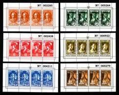 BELGIE 1943 LEGIOEN DUITSE KEIZER REEKS E38 // E43 EMPREURS ALLEMANDS USED OBLI  MNH (°°) SANS CHARNIERE VF TB - Erinnophilie