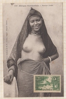 9AL1518 AFRIQUE OCCIDENTALE A O F Seins Nus FEMME ARABE 2 SCANS - French Guinea