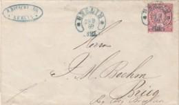 AD Nord Deutscher Postbezirk Brief 1869 Hufeisenstempel - Norddeutscher Postbezirk