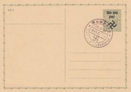 Deutsches Reich Postkarte 1938 Wir Sind Frei Rumburg - Deutschland