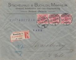 Deutsches Reich R Brief 1894 - Briefe U. Dokumente