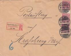 Deutsches Reich R Brief 1895 - Briefe U. Dokumente