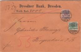 Deutsches Reich Brief 1893 - Briefe U. Dokumente