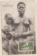 9AL1519 AFRIQUE OCCIDENTALE A O F Seins Nus FEMME DAHOMEENNE 2 SCANS - Guinée Française