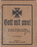 Deutsches Reich Buch 1914 Kalendarium - Allemagne