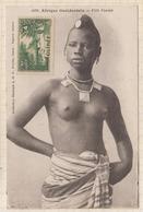 9AL1521 AFRIQUE OCCIDENTALE A O F Seins Nus FILLE FOULAH 2 SCANS - Guinée Française