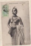 9AL1522 AFRIQUE OCCIDENTALE A O F Seins Nus JEUNE FOULAH 2 SCANS - Guinée Française