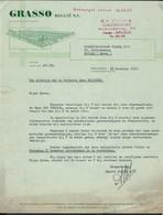 GRASSO * SCHEEPSBOUW * BRUSSEL * CLAESSENSSTRAAT * BRUXELLES * 1958 * - 1950 - ...