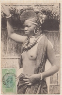 9AL1524 AFRIQUE OCCIDENTALE A O F Seins Nus JEUNE FEMME FOULAH 2 SCANS - Guinée Française