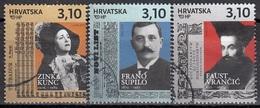 CROATIA 1099-1101,used - Croatie