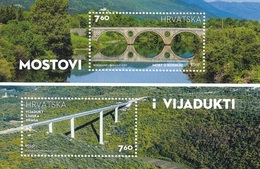 CROATIA 1102-1103,unused,bridges - Croatie