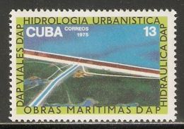 1975 Mi# 2098 ** MNH - Irrigation - Cuba