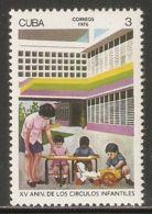 1976 Mi# 2124 ** MNH - Child Care Centers, 15th Anniv. - Nuevos