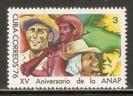 1976 Mi# 2134 ** MNH - Nat. Assoc. Of Small Farmers, 15th Anniv. - Nuevos