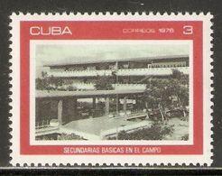 1976 Mi# 2143 ** MNH - Modern Secondary Schools - Nuevos