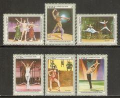 1976 Mi# 2168-2173 ** MNH - 5th Intl. Ballet Festival - Nuevos