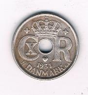 10 ORE 1931 DENEMARKEN /4794/ - Danemark