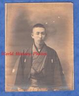 Photo Ancienne Avant Ou Début 1900 - JAPON - Beau Portrait D'un Japonais - Mode Kimono Asie Pose Asia Japan - Anciennes (Av. 1900)