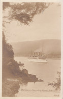 RPPC REAL PHOTO POSTCARD EMPRESS OF ASIA STEAMER VANCOUVER HARBOUR 1917 - Vancouver
